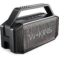 Bluetooth Lautsprecher, W-KING 60W Grosse Bluetooth 5.0 Box Musikbox Bass Boost, Lautester Tragbarer Kabelloser…