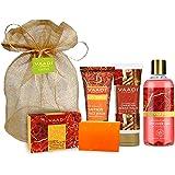VAADI HERBALS Luxurious Saffron Skin Whitening Set, 4 Count