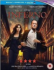 Inferno (Blu-ray + Bonus Disc + Digital HD + UV) (2-Disc Set) (Region Free + Fully Packaged Import)