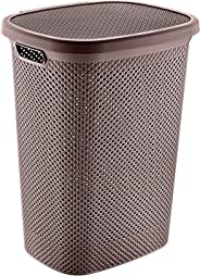 Hobby Life Laundry Basket Diamond Design (Chocolate)