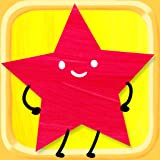 Formen-Puzzle für Kinder - Kreise, Dreiecke, Rechtecke und vieles mehr! Vorschule und Kindergarten, Formen- und Farblernspiel für Kinder und Kleinkinder - Ausbildung Version