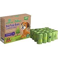 300 sacchetti biodegradabili per escrementi di cani animali domestici, odore di lavanda, 20 rotoli, alta resistenza a…