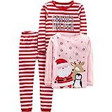 Simple Joys by Carter's Unisex niños pijama de satén, Pack de 3