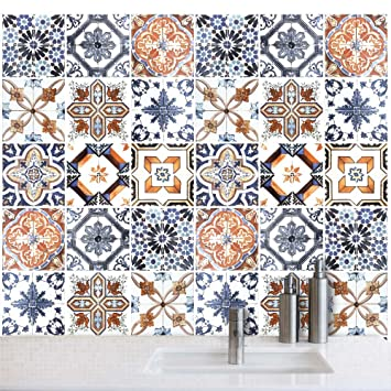 Mattonelle Per Cucina 10x10. Best Piastrelle Murali Adesive ...