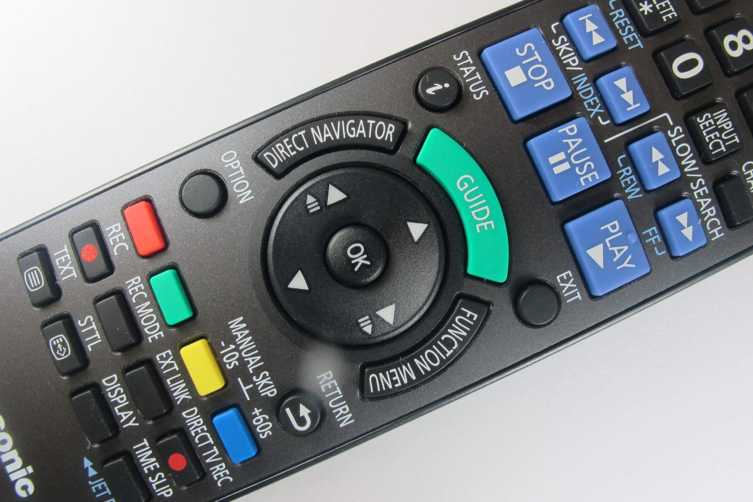 81GjcuaK0oL - Panasonic DMR-EZ49VEBK Genuine DVD Recorder Remote Control N2QAYB000466