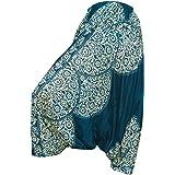 PANASIAM - Pantaloni Aladino, pantaoni Harem, Taglia Unica dalla M alla L, Design Moderno, Piccola Produzione di Una Boutique