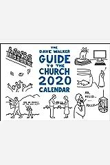 The Dave Walker Guide to the Church 2020 Calendar Calendar