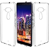 KingShark HTC U12 Plus/HTC U12+ Hülle Silikon, TPU Schutzhülle Dünn Schlank Weich Flexibel Anti-Kratzer Schutzhülle Abdeckung Case Cover für HTC U12 Plus - Transparent