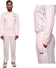 Slyk Cricket Uniform, Sweat-Control Cricket Dress with Full Sleeve Jersey + Trouser Combo