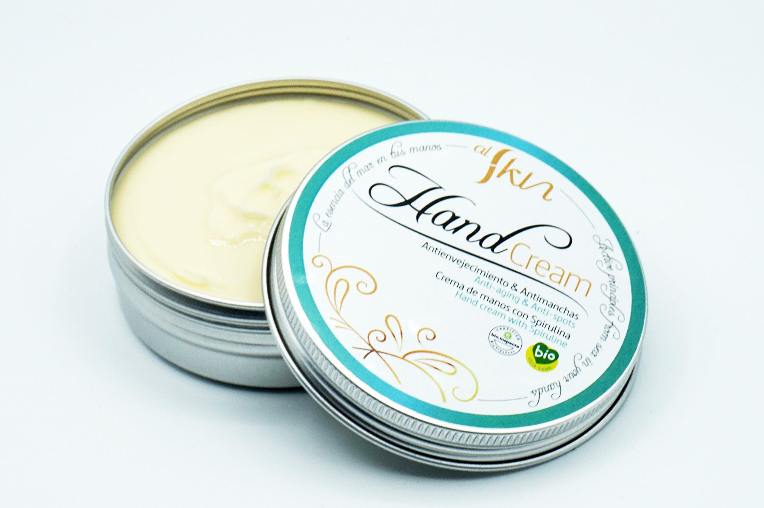 Crema de Manos Reparadora | Con Manteca de Karité y Aceite de Caléndula para Máxima Hidratación | Evita Manchas en las Manos | Cosmética Ecológica | Certificaciones Bio y Eco | Envase 50 ml