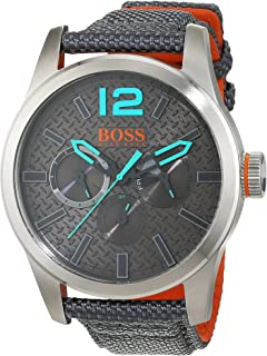 3d83c0a20ed0 Hugo Boss Orange Homme Analogique Classique Quartz Montres bracelet ...