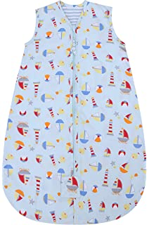 Baby Sleeping Bag Summer//Spring,Cute Animal Cartoon Sleeping Blanket Bag,New Design Sleeveless Sleeping Bag 0.5 tog S , RedForest 0-5 Months