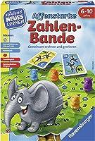 """Ravensburger Kinderspiele 24973"""" Affenstarke Zahlen-Bande Lernspiel, bunt"""