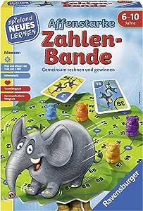 Ravensburger 24973 Affenstarke Zahlen Bande Spielen Und Lernen Für Kinder Spiel Für Kinder Von 6 10 Jahren Spielend Neues Lernen Für 1 6 Spieler Spielzeug