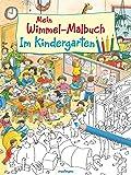 Mein Wimmel-Malbuch – Im Kindergarten
