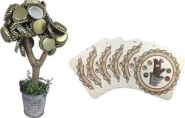 Kronly Magnetbaum mit 2 starken Magneten Geschenk für Männer hält über 50 Kronkorken ORIGINAL