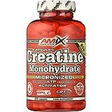 AMIX - Creatina Monohidratada - 220 Cápsulas - Complemento Alimenticio - Mejora el Rendimiento Físico - Ideal para Deportista