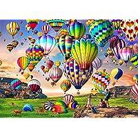 HUADADA Puzzle 1000 Pièces Adultes, Puzzles de Ballon à Air Chaud Convient aux Adolescents Adultes Puzzle Enfant…