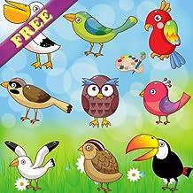 Livre à colorier pour les tout-petits: les oiseaux ! GRATUIT
