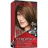 Revlon ColorSilk Tinte de Cabello Permanente Tono #50 Castaño ...