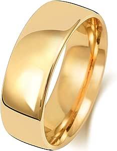 Anello Fede Nuziale Uomo/Donna 7mm in Oro giallo 18k (750) WJS1513318KY