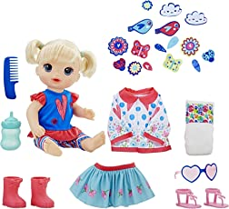 Baby Alive Many Styles Blonde Baby Doll