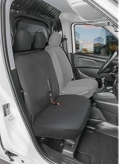 con Fori per i poggiatesta e bracciolo Laterale compatibili con sedili con airbag Coprisedili Anteriori REXTON Versione 2002-2017