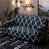 House of Quirk Universal Triple Seater Sofa Cover Big Elasticity Cover for Couch Flexible Stretch Sofa Slipcover (Triple Seat