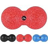 MSPORTS Peanut Massageball Premium | Duoball - Triggerpunkt- Faszien-Massage Duo-Ball | Erdnuss Ball
