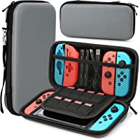 HEYSTOP Case Compatible with Nintendo Switch, Protective Hard Portable Travel Carry Case Shell Pouch Compatible with…