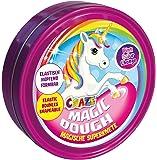 Craze 58917 - Intelligente Superknete, Magic Dough Unicorn, circa 80 g in Dose, BPA- und glutenfrei, Sortiert