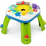 Bright Starts Having a Ball Get Rollin' Activity Table - Plays Over 60 Songs, 4 Languages, Including 6 Balls, a Ball…