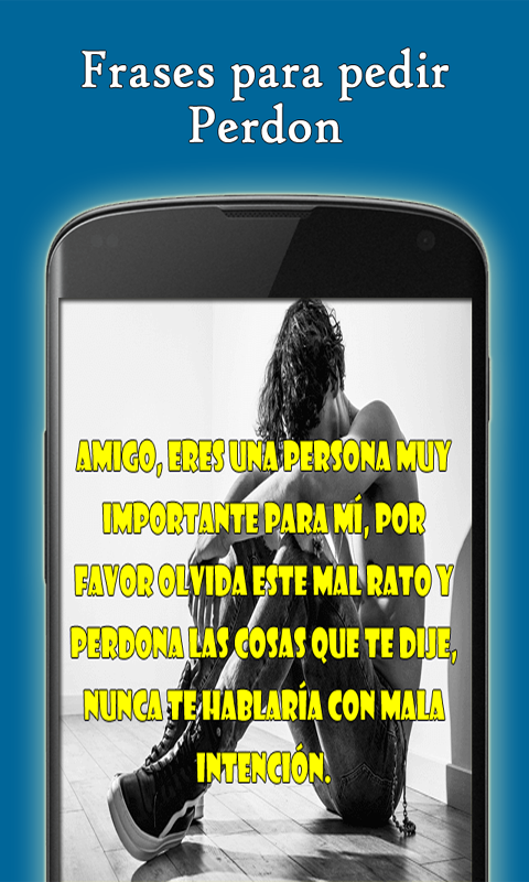Frases Para Pedir Perdon Amazoncouk Appstore For Android