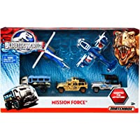 Matchbox Jurassic World Mission Force Vehicle Pack