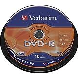 Verbatim 43523 - DVD-R, 4.7 Gb, 16x, 120 min (10 unidades)