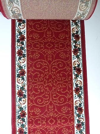 Teppich Läufer Meterware Rot 1055 lfm. 19,90 Euro Breite 100 x 420 ...