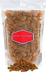 SFT Raisins Golden Organic (Kishmish) Seedless, Dry Grapes 1 Kg