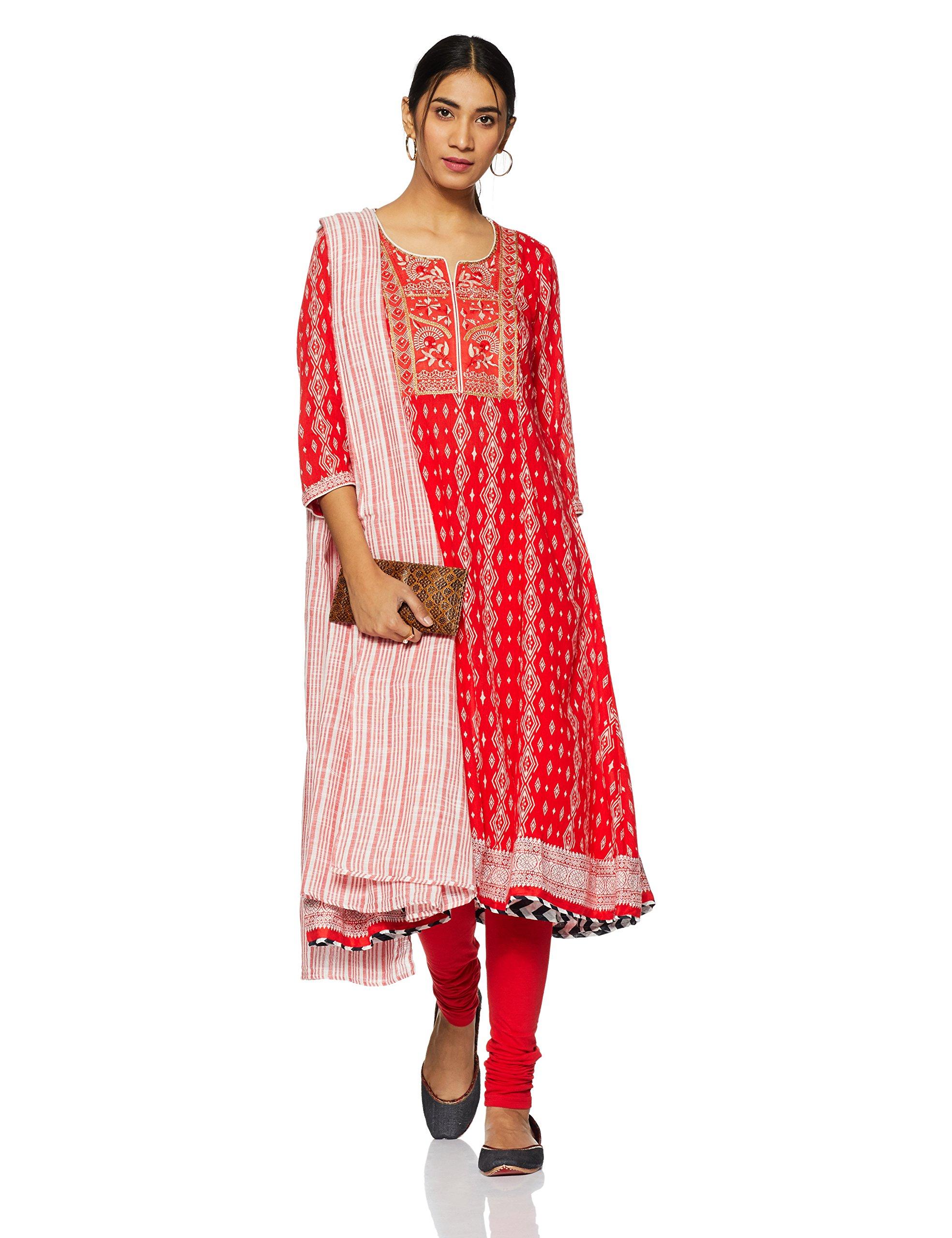 8b02dd348 BIBA Women s Anarkali Salwar Suit - Gia Designer