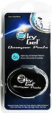 SkyGel SKDPBK Gel Damper Pads - Black