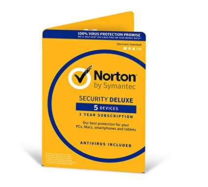 Norton Security Deluxe - 5 devices - Version 3.0 - 1-year Licence