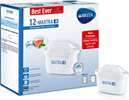 BRITA Maxtra+ Water Filter Cartridges, White