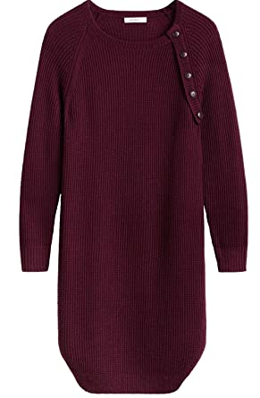 Sandwich Clothing Burgundy Knit Sweater Dress: Amazon.co.uk: Clothing