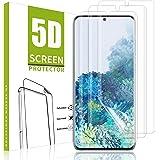 MSOVA Souple TPU Verre trempé pour Samsung Galaxy S20 Plus/S20+, [Anti-Rayure] HD Ultra Transparent Protection écran en…