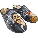 Zapatillas de Estar por Casa para Hombre Hermanos Marx Mod.529. Calzado Made in Spain, Garantia de Calidad.