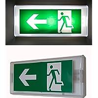 Panneau d'indication de sortie de secours lumineux, 220.00V