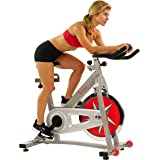 Sunny Health & Fitness Indoor Cycling Exercise Bike with 40 LB Flywheel and Dual Felt Resistance - Pro / Pro II