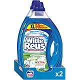 Witte Reus Gel Vloeibaar Wasmiddel, Witte Was, 100 (2 x 50) wasbeurten Voordeelverpakking