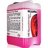 DELLWING HD Spezialreiniger Sauer 5L - Nettoyant à ultrasons concentré de qualité supérieure pour le nettoyage des surfaces e