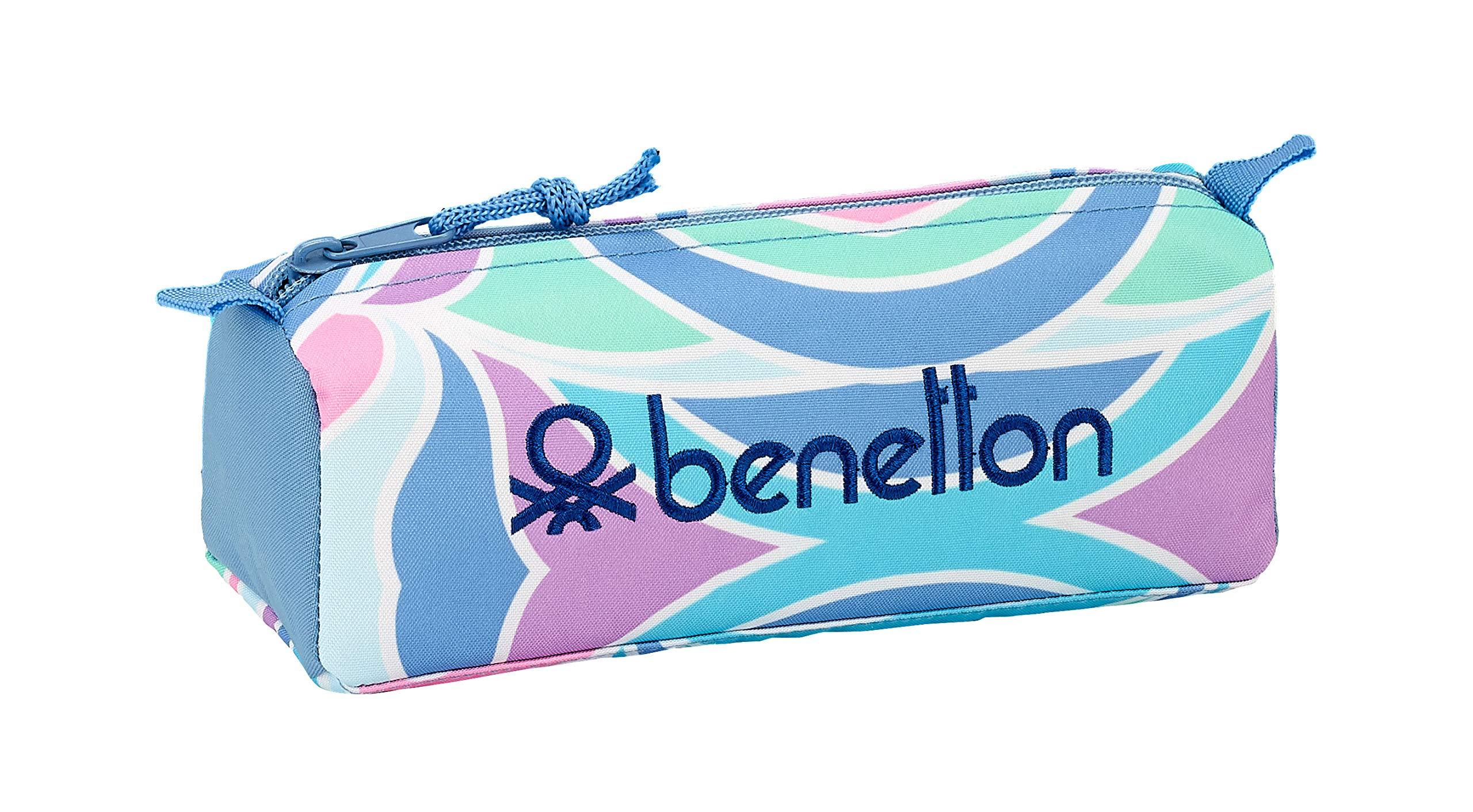 Benetton «Arcobaleno» Oficial Estuche Escolar 210x70x80mm