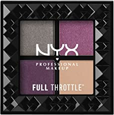 Nyx Professional Makeup Full Throttle Shadow Palette, Bossy, 6g
